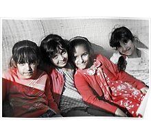 Little Ladies Poster
