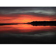 Lake Tyers Sunset Photographic Print