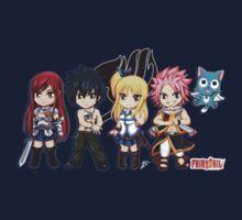 Fairy Tail Friends Chibi T-Shirt
