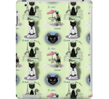 French Kitty Collage iPad Case/Skin