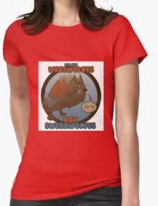 Werewolves, not swearwolves Womens Fitted T-Shirt