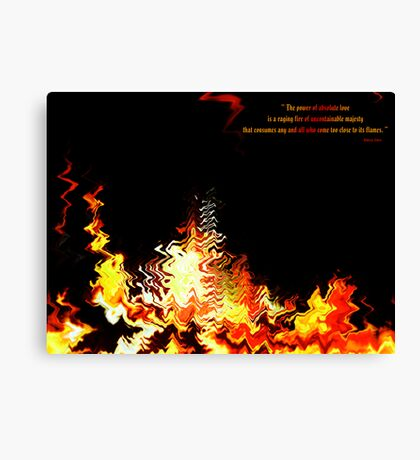Fire of Love v1.0 Canvas Print