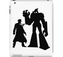 Colt and Petey, Crimefighters (Black) iPad Case/Skin
