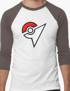 Pokemon - Gym Logo Men's Baseball ¾ T-Shirt