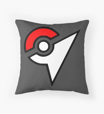 Pokemon - Gym Logo Throw Pillow