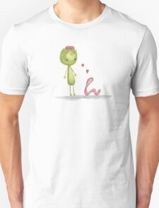 I love you for your brains Unisex T-Shirt