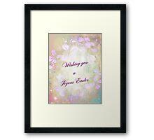 Easter Greeting - Wild Phlox Framed Print