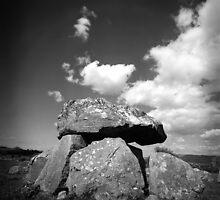 Passage Grave, Ireland by fotocoe