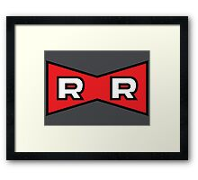Red Ribbon Army - Dragon Ball Framed Print