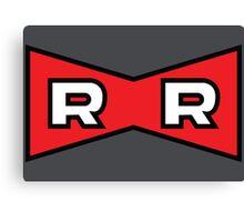 Red Ribbon Army - Dragon Ball Canvas Print