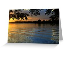 Manning River Sundown #2 Greeting Card