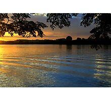 Manning River Sundown #2 Photographic Print