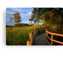Manning River Sundown Canvas Print