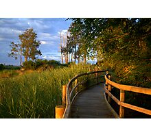 Manning River Sundown Photographic Print