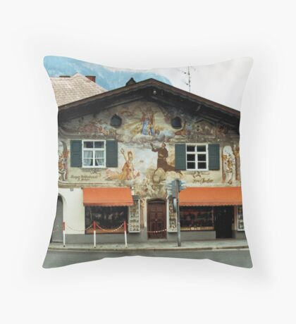 Garmisch Throw Pillow