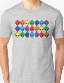 Rainbow Aliens T-Shirt