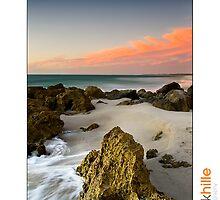 Quinns Beach by Kirk  Hille