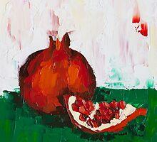Chunk of Pomegranate by ebuchmann