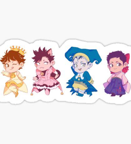CCS Haikyuu!! Captains Sticker