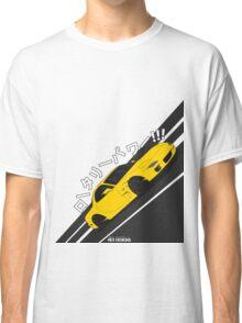 Mazda RX7 FD - Rotary Power (Yellow) Classic T-Shirt
