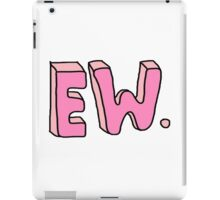 EW. iPad Case/Skin