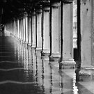 FLOODED ST MARKS SQUARE  by Scott  d'Almeida