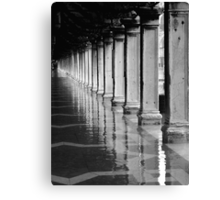 FLOODED ST MARKS SQUARE  Canvas Print