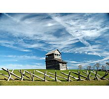 groundhog mountain observation tower - fancy gap virginia Photographic Print