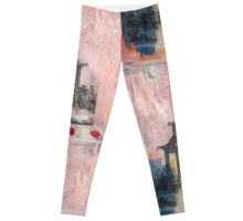 Mixed Media Pagoda Leggings
