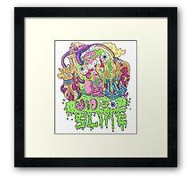 Ooze Dude Framed Print
