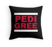 RUN Pedigree Throw Pillow