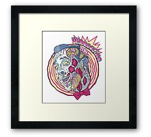 Zombie Playhouse Framed Print