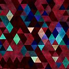 Mixed colors triangles by WAMTEES