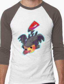 Toothless Pikachu Men's Baseball ¾ T-Shirt