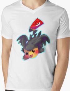 Toothless Pikachu Mens V-Neck T-Shirt