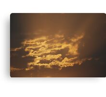 Shining Clouds Canvas Print