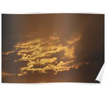 Shining Clouds Poster