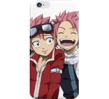 Fairy Tail Both Natsus iPhone Case/Skin