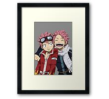 Fairy Tail Both Natsus Framed Print