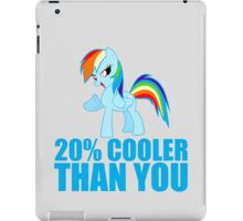 Rainbow Dash: 20% Cooler Than You iPad Case/Skin