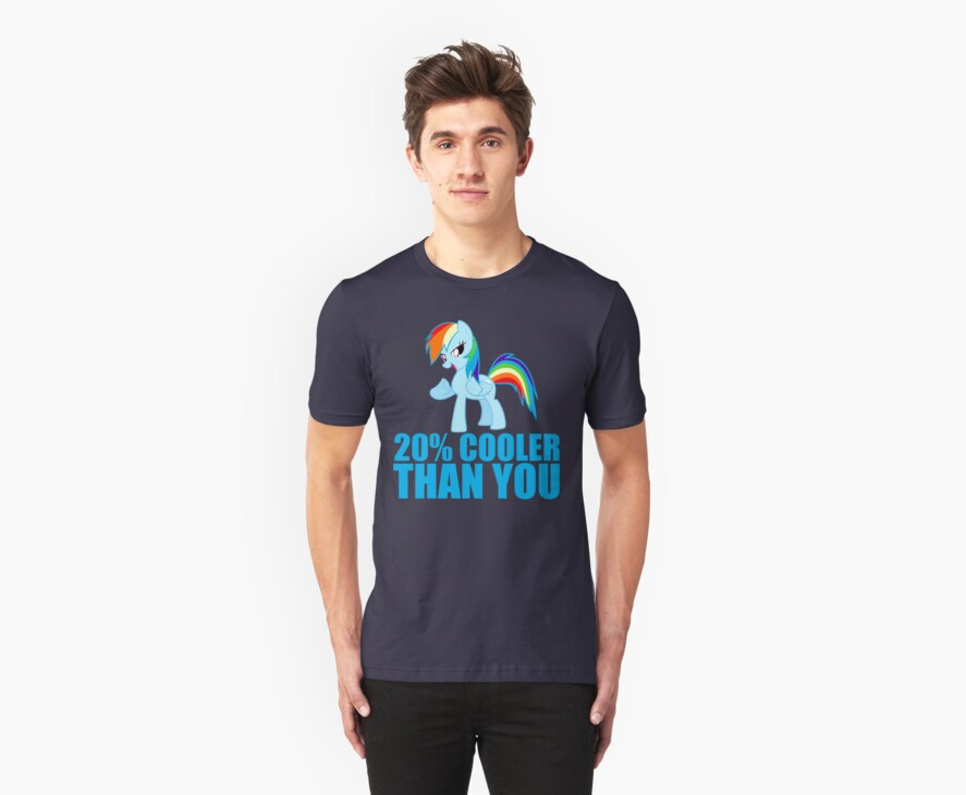 Rainbow Dash: 20% Cooler Than You by Casteal