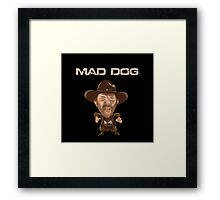 Buford Mad Dog Tannen 1885 Back To The Future Framed Print