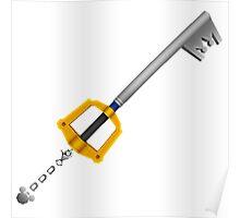 Kingdom Hearts Sora's Keyblade Poster