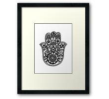 Hamsa Framed Print