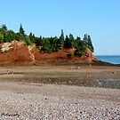 St. Martins' Caves at Low Tide by Kathleen Daley