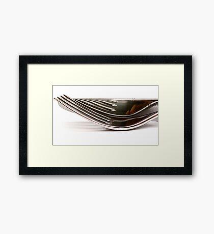 metalic Framed Print