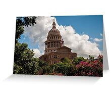 Texas State Capitol in Austin Greeting Card