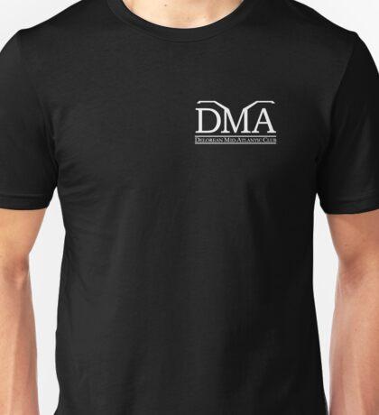 DeLorean Mid-Atlantic Official Logo White Badge Unisex T-Shirt