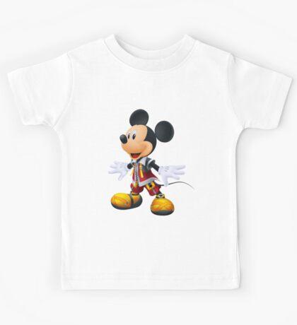 Kingdom Hearts King Mickey Kids Tee