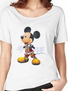 Kingdom Hearts King Mickey Women's Relaxed Fit T-Shirt